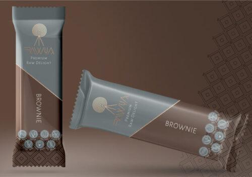 Brownie Raw Vegan Bar - Healthy Snack