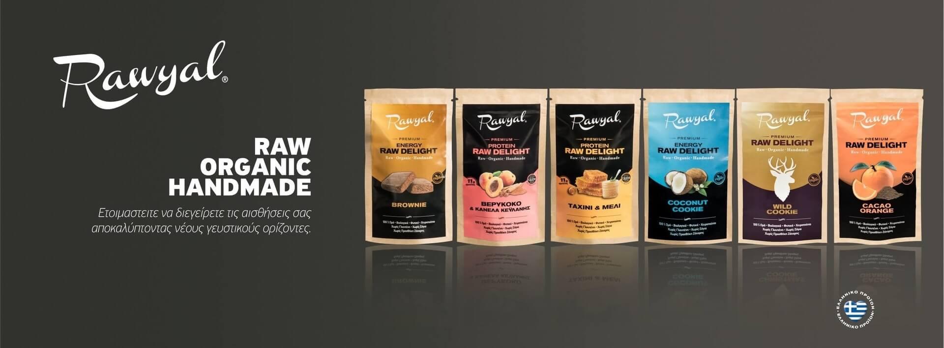 Raw Vegan Organic Bars Products Rawyal Premium Snacks Greece